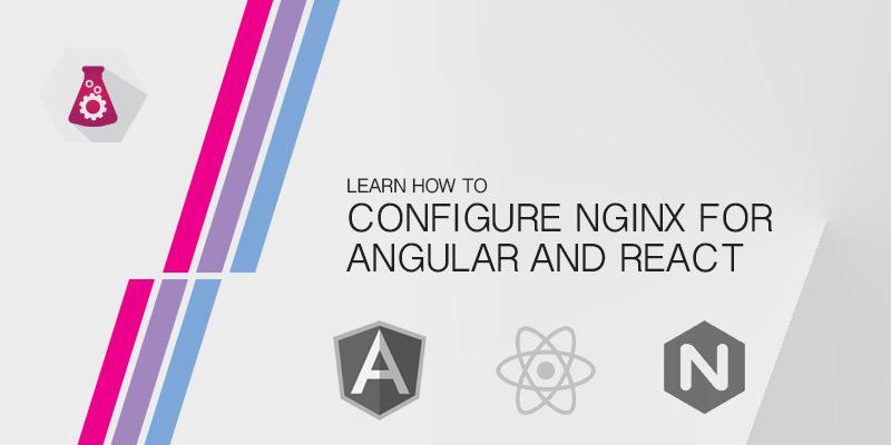 Как настроить NGINX для Angular и React